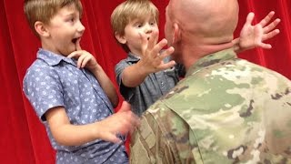 Welcome Home Soldier Surprise Homecoming Compilation 18