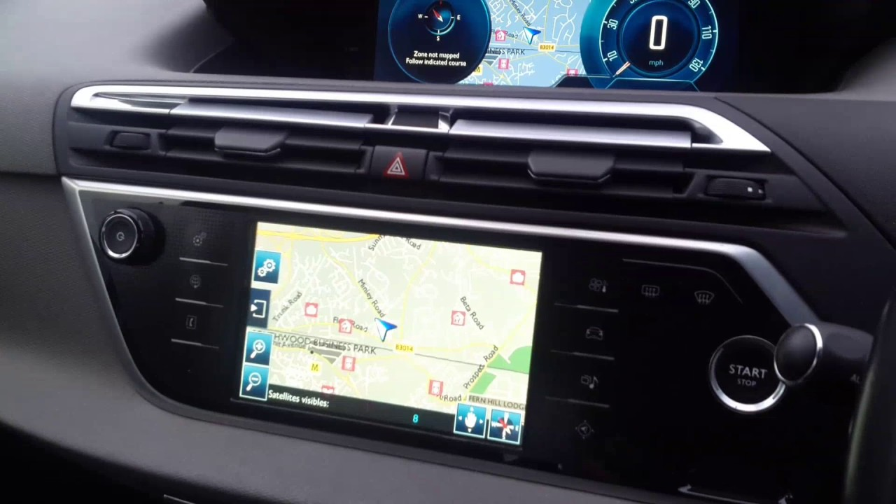 Citroen C4 Picasso/Grand C4 Picasso: How to delete previous Satnav  destinations