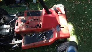Mini TORO RIDING MOWER MOTOR SWAP OUT YES OR NO?