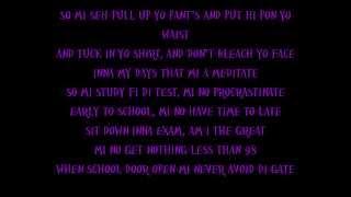 Vybz Kartel - School Lyrics [ Aug 2013]