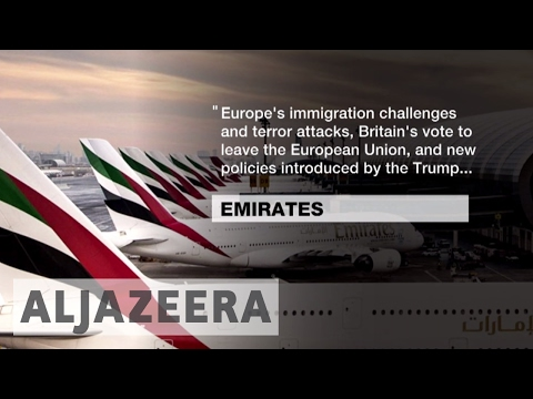 Emirates airline profits down 82.5% on last year