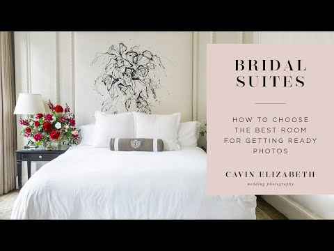 The Best Getting Ready Room (And The Worst) For Wedding Photos - Bridal Suite Lighting
