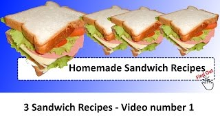 Sandwich Recipes - Number 1