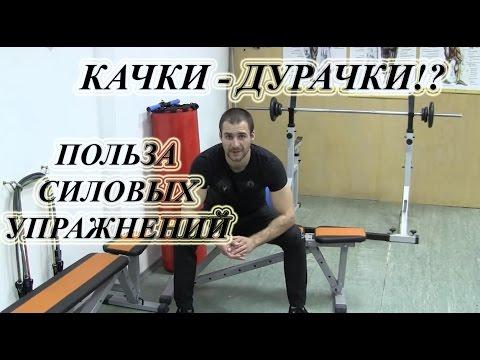 КАЧКИ - ДУРАЧКИ!? Польза силовых тренировок. ОФП, физкультура, зарядка, гимнастика против болезней!