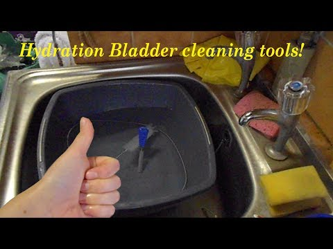 Hydration Bladder cleaning kit!