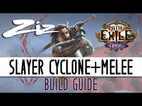 Ziz - 3.7 Legion Slayer Cyclone + Melee Starter Build Guide!