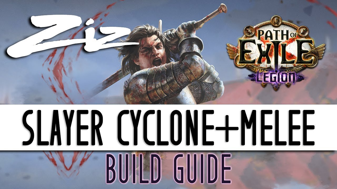Ziz - 3 7 Legion Slayer Cyclone + Melee Starter Build Guide!