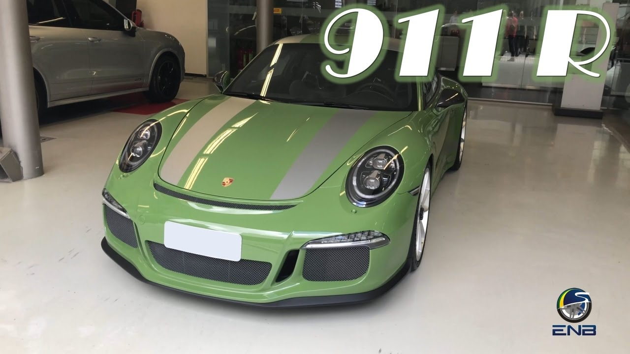 Porsche 911 R Pts Olive Green 04 03 17 Youtube