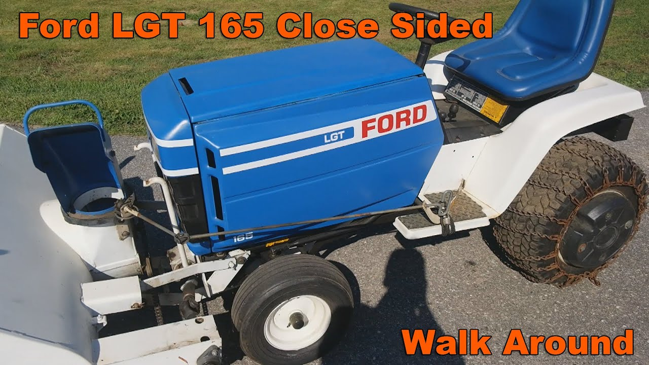 medium resolution of ford lgt 165 walk around