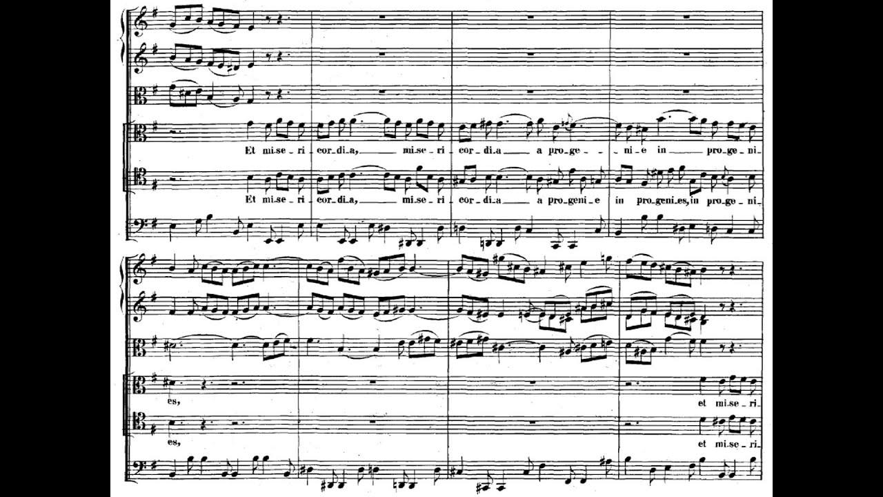 Karl Richter Bach Magnificat In D 1962 Youtube
