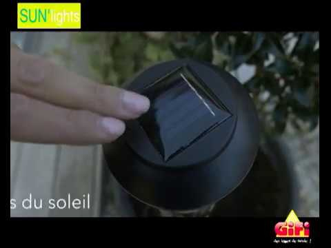 GiFi | Luminaires Sun\'Lights - YouTube