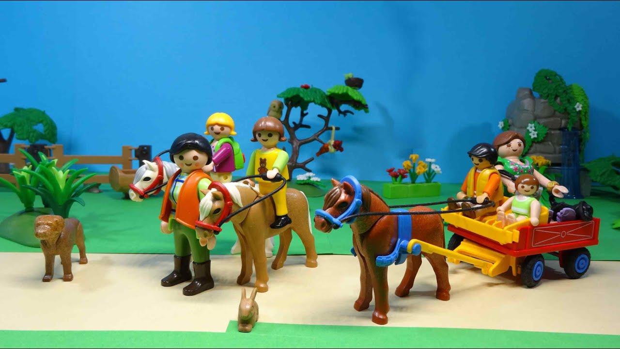 Playmobil film (esk) vylet k ponikum od Playmobil ...