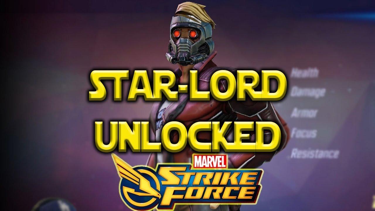 Star-Lord Legendary Event Unlocked - Marvel Strike Force - MSF