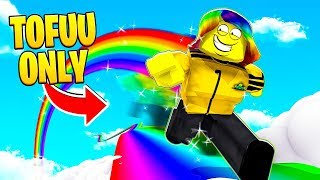 I GOT 999,999,999 SPEED TO BEAT THE TOFUU ONLY LEVEL.. (Roblox)