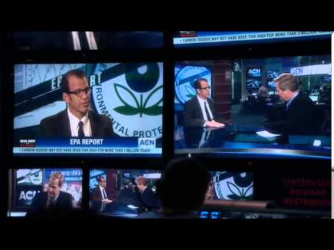 Paul Lieberstein on Newsroom EPA Bit