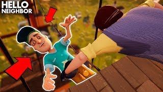 The Neighbor Tries *NEW* CRAZY WAYS TO STOP US!!! (GIANT HOUSE) | Hello Neighbor Gameplay (Mods)