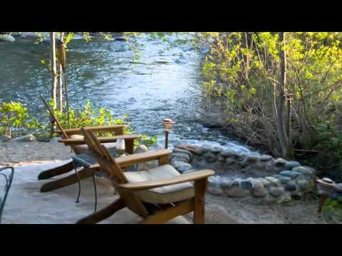 Beau Riverfront Vacation Rental   Three Rivers CA