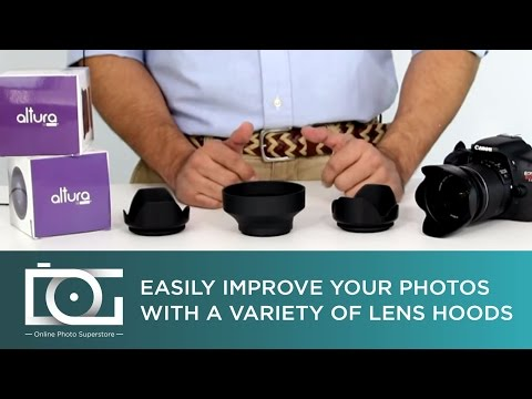 LENS HOODS - Tulip Reversible, Tulip / Petal or Rubber Collapsible   Which is Better?