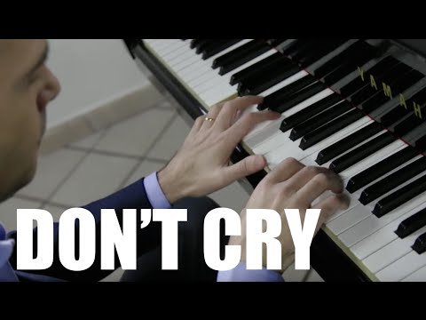 Guns N&39; Roses - Don&39;t Cry piano cover play by Ear by Jazzy Fabbry Rock Ballad