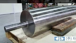 폐기물, 고철 컨베어 선별 자석로라(마그네틱풀리)(자원…