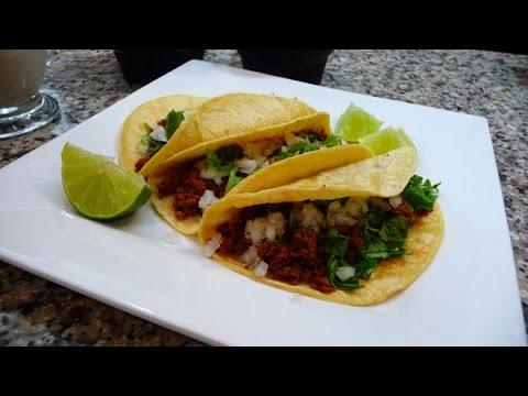Adobada Tacos, Green Salsa With Avocado, Mexican Recipes For Cinco De Mayo!