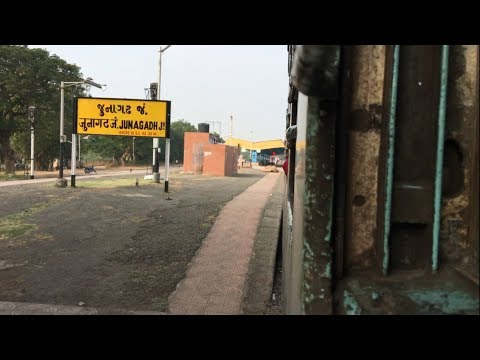 On Hell Of Acceleration | Chugging+Honking | Trivendum-Veraval Express | Departs Junagadh