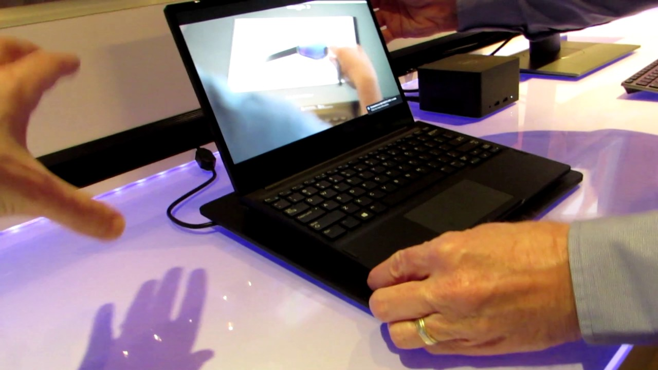 f7f090ac4 Dell Latitude 7285 2-in-1 with wireless charging - YouTube