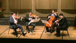 Shanghai String Quartet - Dvorak; String Quartet in A-flat Major, Op. 105