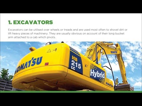 6 Types Of Earth Moving Equipment | Resolute Equipment