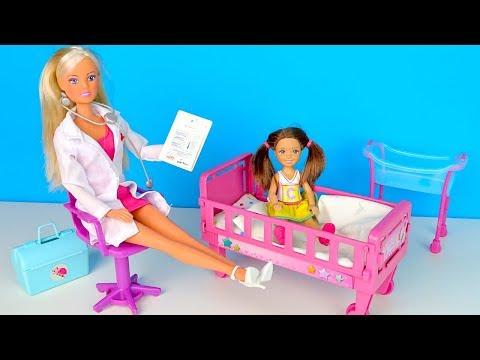 Бесплатный Сыр или Как Катя в Больничку Попала Мультик #Барби Школа Куклы Игрушки для девочек