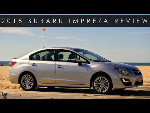Review 2015 Subaru Impreza Limited The Work Horse