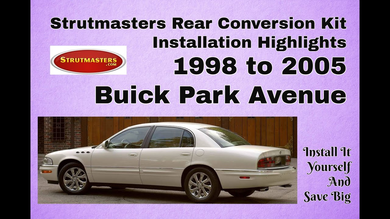 How To Fix The Rear Suspension On A Buick Park Avenue Youtube 2001 Lesabre Motor Mount Diagram Wiring Schematic