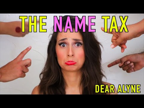 The NAME Tax 😳