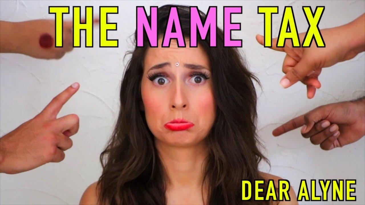 The NAME Tax 😳