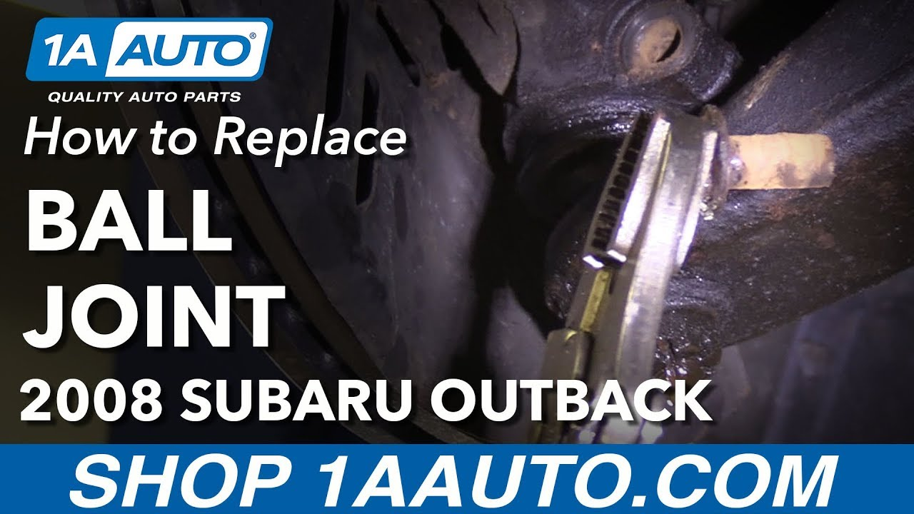 How To Replace Front Lower Ball Joint When Pinch Bolt Breaks 00 17