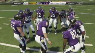 Thanksgiving Day Madden 25 (PS4): Steelers vs Ravens - 1st Half