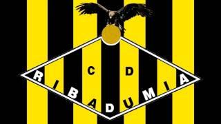 Bandera y Escudo del Club Deportivo Ribadumia - Ribadumia (Pontevedra)