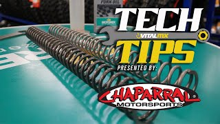 Vital Tech Tip: Changing Your Fork Springs