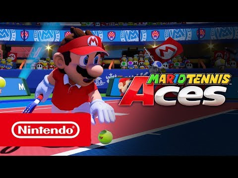 Mario Tennis Aces - Launch Trailer (Nintendo Switch)