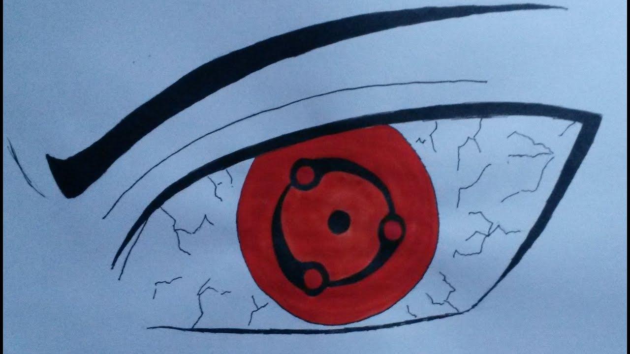 how to draw eyes sharingan madara mangekyou sharingan youtube