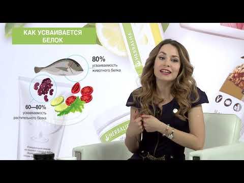 Вебинар  Белок Гербалайф - основа сбалансированного питания  с Анастасией Уласевич