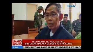 UB: Palparan, pinaratangang corrupt ang judge na hinatulan siyang guilty sa kasong pagdukot
