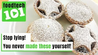 Homemade Wholemeal Mince Pies | FoodTech 101