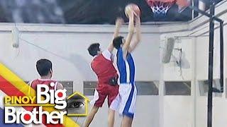 Pinoy Big Brother Season 7 Day 62: Boy Housemates, napalaban sa larong basketball
