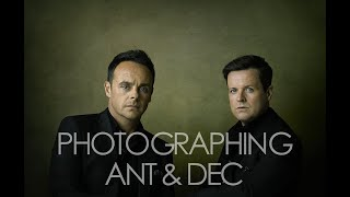 Photographing Ant & Dec
