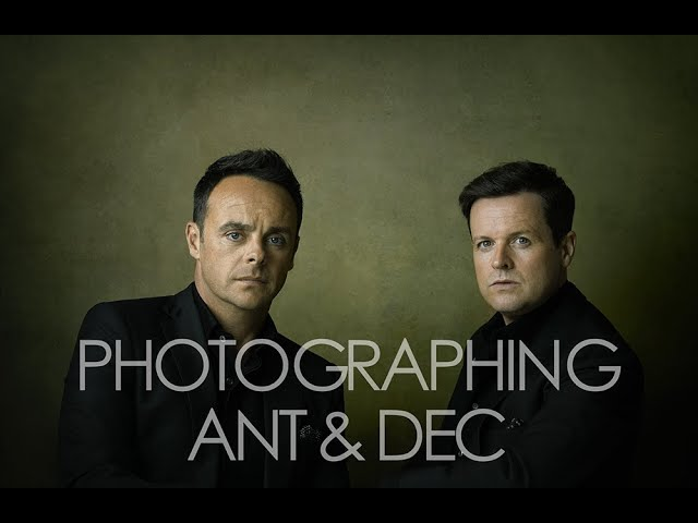 Rory Lewis - Portrait Photography with Ant & Dec