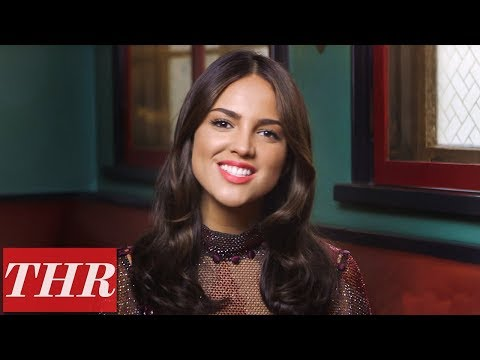 'Baby Driver's' Eiza Gonzalez on Jon Hamm & Kevin Spacey | THR Fishing for Answers