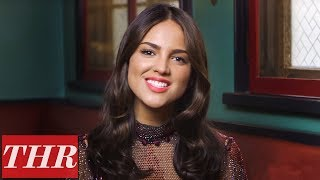 Video 'Baby Driver's' Eiza Gonzalez on Jon Hamm & Kevin Spacey | THR Fishing for Answers download MP3, 3GP, MP4, WEBM, AVI, FLV Agustus 2018