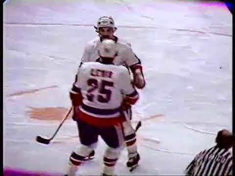 January 20, 1979 Chicago Blackhawks at New York Islanders