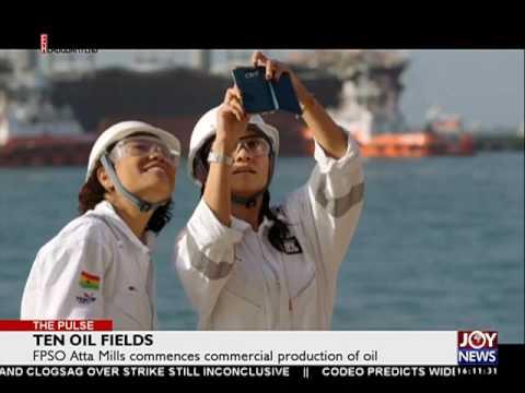 TEN Oil Fields - The Pulse on Joy News (18-8-16)